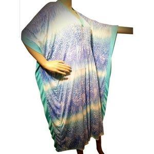 Anne Klein Flowyyyy Beach sun dress M🥂🏝